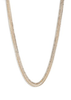 Something Navy Three-Row Choker Necklace (Nordstrom Exclusive)