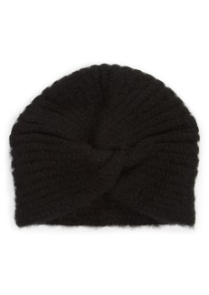 Something Navy Turban Beanie (Nordstrom Exclusive)