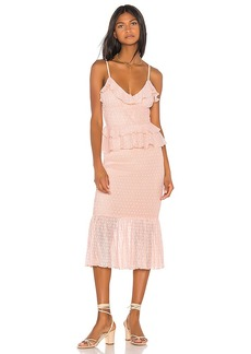 Song of Style Lucia Midi Dress