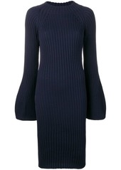Sonia Rykiel bell sleeves knitted dress