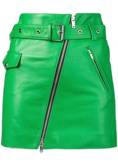 Sonia Rykiel belted mini skirt