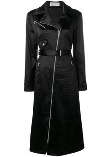 Sonia Rykiel biker jacket silhouette dress