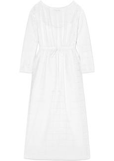 Sonia Rykiel Broderie Anglaise Cotton Maxi Dress