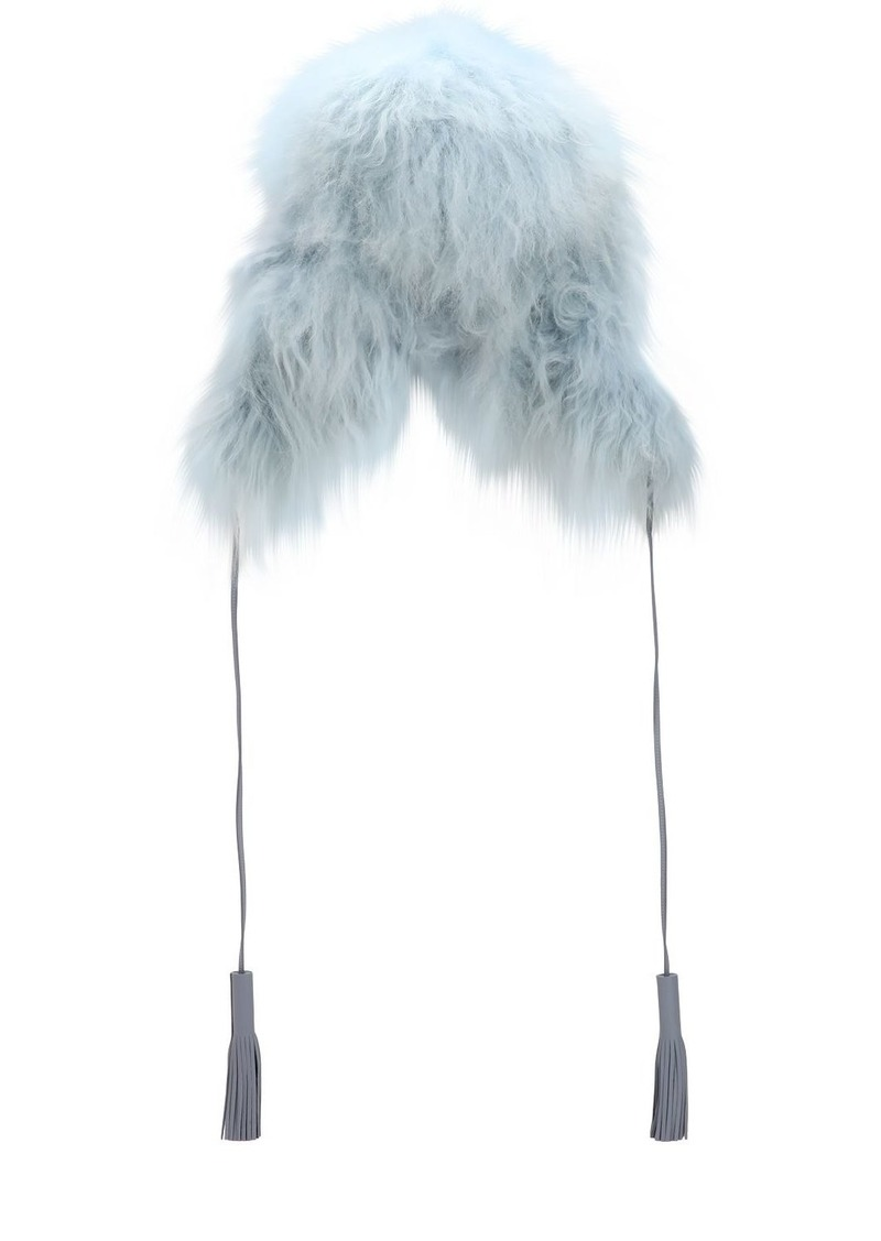 Sonia Rykiel Chapka Long Fur Hat
