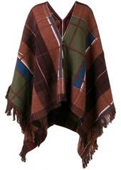 Sonia Rykiel check pattern cape