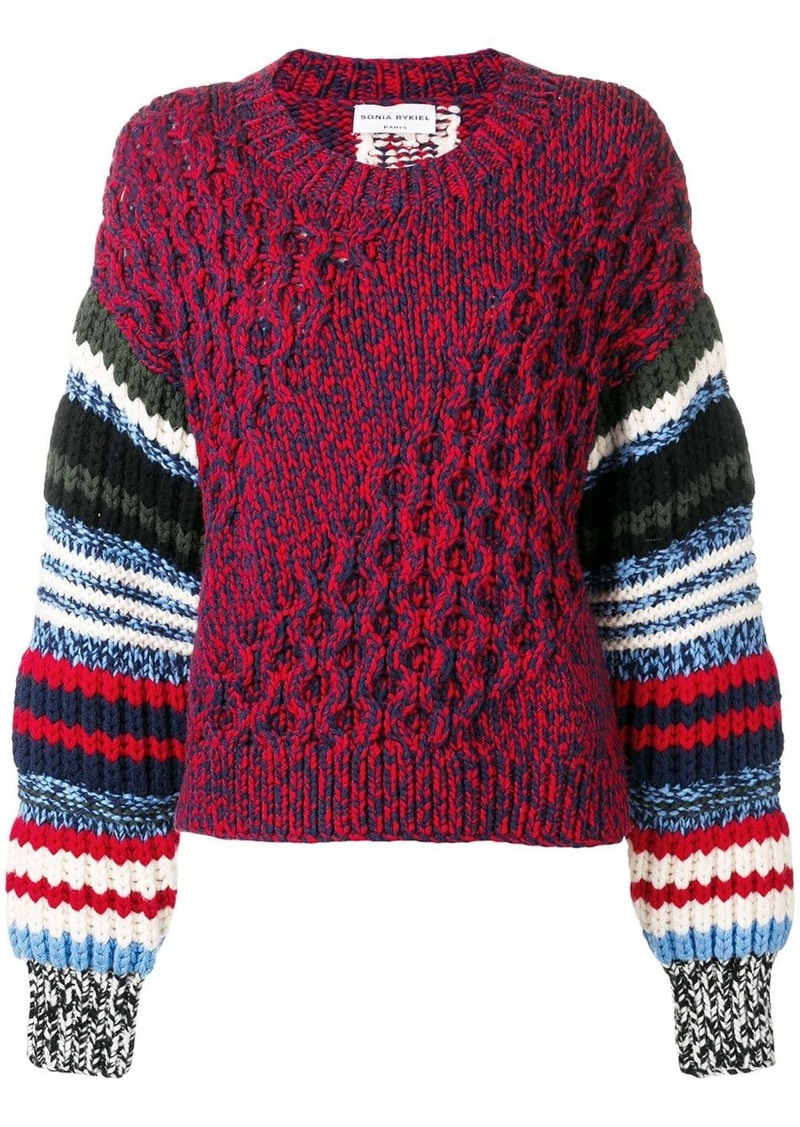 Sonia Rykiel chunky knit jumper