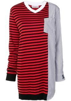 Sonia Rykiel contrast sweater dress
