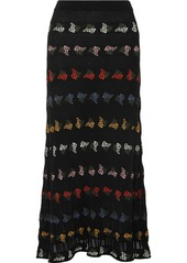 Sonia Rykiel Cotton-blend Jacquard Midi Skirt