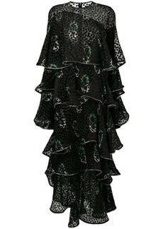 Sonia Rykiel dotted maxi dress