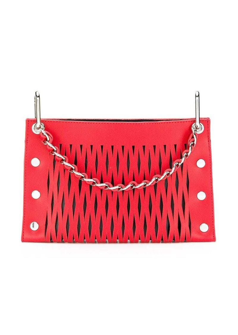 Sonia Rykiel double pouch shoulder bag