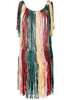 Sonia Rykiel fringe knit dress