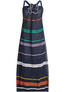 Sonia Rykiel Knit Maxi Dress with Cotton and Linen