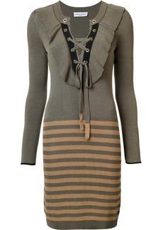 Sonia Rykiel knitted drawstring dress