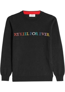 Sonia Rykiel Knitted Pullover with Cotton