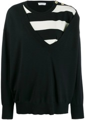 Sonia Rykiel knitted top
