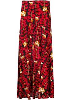 Sonia Rykiel lonf printed skirt