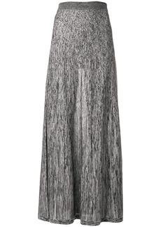 Sonia Rykiel long two-tone skirt