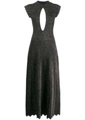 Sonia Rykiel metallic long dress
