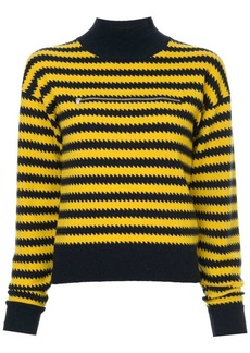 Sonia Rykiel mock neck cashmere sweater