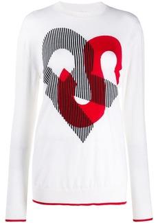 Sonia Rykiel monogram print jumper