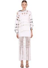 Sonia Rykiel Oversize Wool Blend Knit Sweater