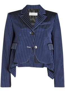 Sonia Rykiel Pinstriped Shrunken Jacket