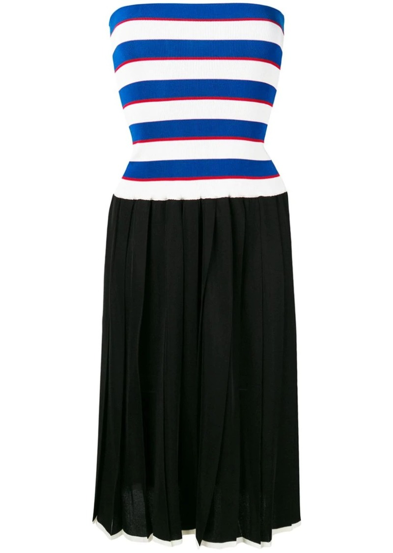 Sonia Rykiel pleated knit skirt dress