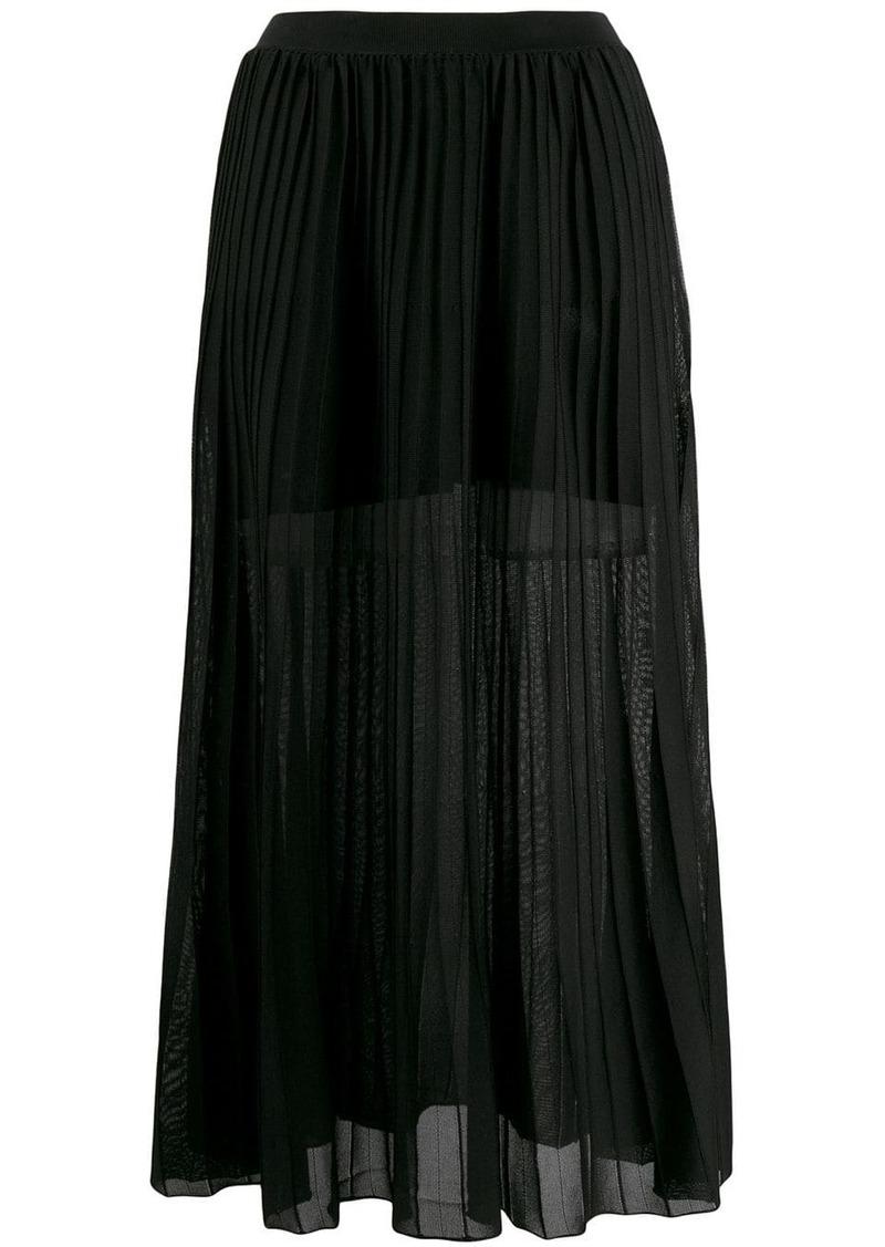 Sonia Rykiel pleated pull-on skirt