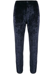 Sonia Rykiel polka dot track trousers