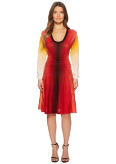 Sonia Rykiel Rainbow Silk Dress