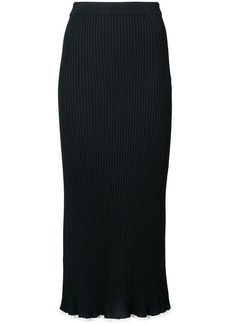 Sonia Rykiel ribbed knitted skirt