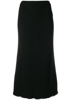 Sonia Rykiel ribbed midi skirt