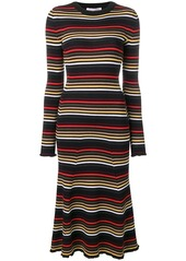 Sonia Rykiel striped midi dress