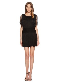 Sonia Rykiel Shinny Fringe Knit Dress