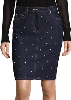 Sonia by Sonia Rykiel Five-Pocket Studded Skirt