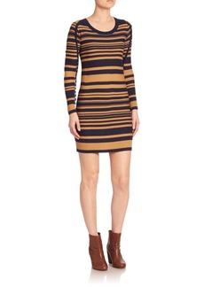 Sonia by Sonia Rykiel Long Sleeve Striped Dress
