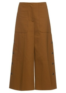 Sonia Rykiel 1970s long cotton-blend jersey culottes