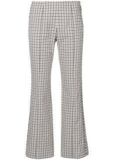 Sonia Rykiel checked cigarette trousers - Nude & Neutrals