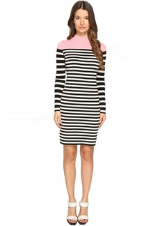 Sonia Rykiel Color Block and Striped Dress