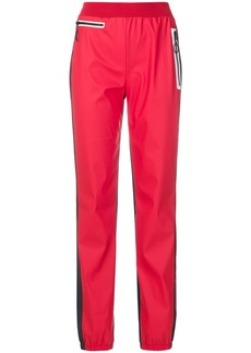 Sonia Rykiel contrast trim causal trousers - Red