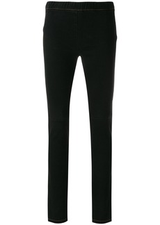 Sonia Rykiel denim leggings - Black