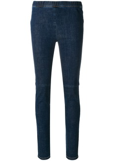 Sonia Rykiel denim leggings - Blue