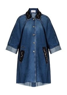 Sonia Rykiel Embellished denim coat