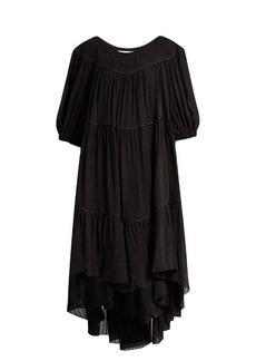 Sonia Rykiel Gathered crepe dress