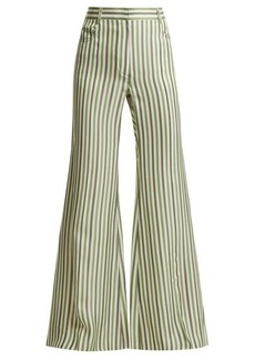 Sonia Rykiel High-waist striped trousers