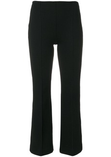 Sonia Rykiel knitted flare trousers - Black