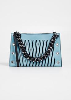 Sonia Rykiel Perforated Chain Bag