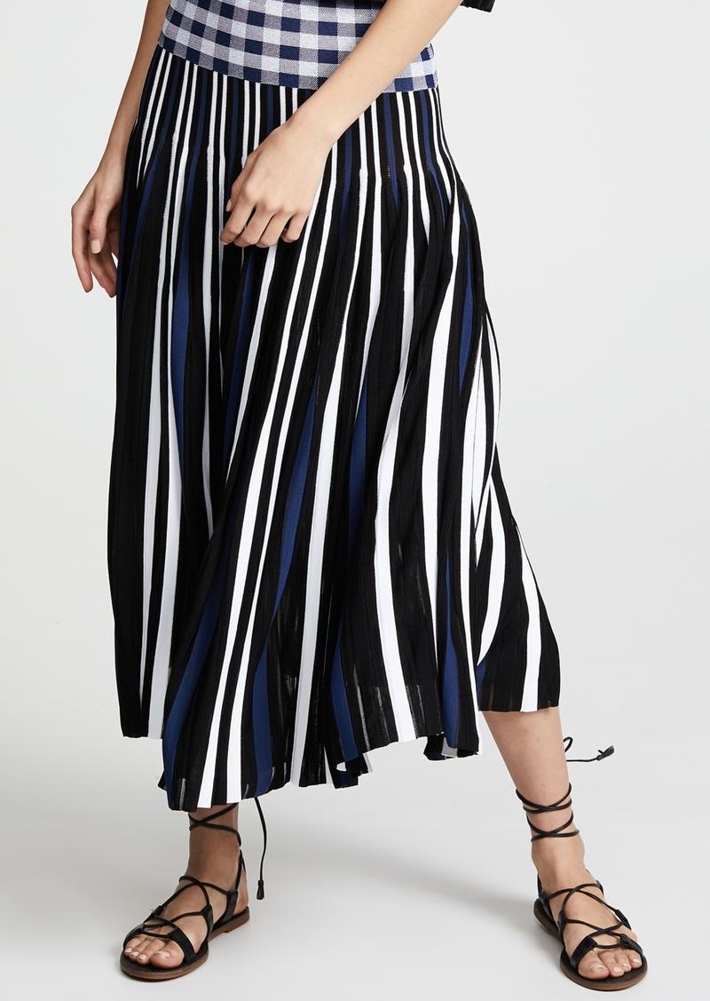922c5c9131 Sonia Rykiel Sonia Rykiel Plaid Pleated Midi Skirt | Skirts