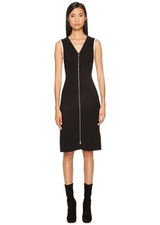 Sonia Rykiel Plain Crepe Zip Dress