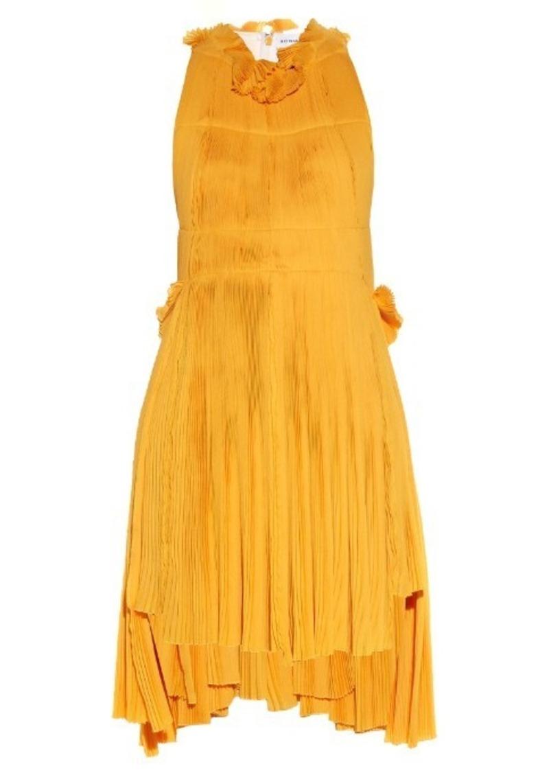 f2fc3be580f Sonia Rykiel Sonia Rykiel Racer-back pleated dress